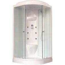 Душевая кабина Royal Bath RB 100HK7-WC-CH (белое/матовое)