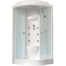 Душевая кабина Royal Bath RB 100HK7-WT-CH (белое/прозрачное)