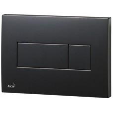 Кнопка смыва AlcaPlast ALCA M378 черная
