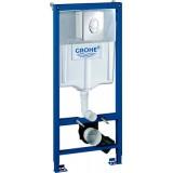 Система инсталляции для унитазов Grohe Rapid SL 38721001 3 в 1 с кнопкой смыва