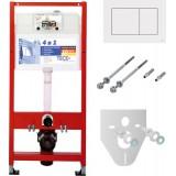 Система инсталляции для унитазов TECE TECEnow 9400013 4 в 1 с кнопкой смыва
