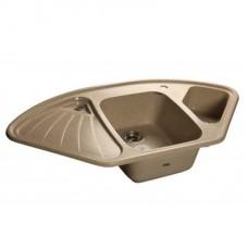 Мойка кухонная GranFest Corner GF-C1040E песочный