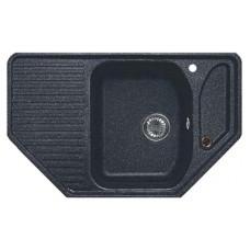 Мойка кухонная GranFest Corner GF-C800E черный