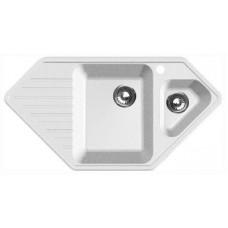 Мойка кухонная GranFest Corner GF-C950E белый