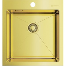 Мойка кухонная Omoikiri Akisame 46-LG светлое золото