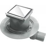 Душевой трап Pestan Confluo Standart Dry 1 White Glass 10x10