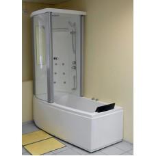 Акриловая ванна Gemy G 8040 B L левая