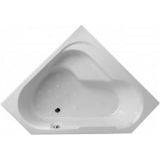 Акриловая ванна Jacob Delafon Bain Douche 145х145 E6222RU-00 левая