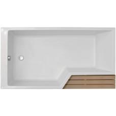 Акриловая ванна Jacob Delafon Bain-Douche Neo 150х80 E6D119L-00 левая