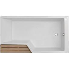 Акриловая ванна Jacob Delafon Bain-Douche Neo 160х70 E6D000R-00 правая