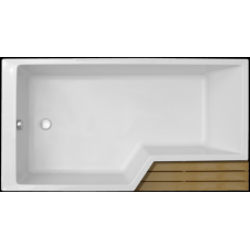 Акриловая ванна Jacob Delafon Bain-Douche Neo 180х90 E6D004L-00 левая