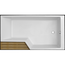 Акриловая ванна Jacob Delafon Bain-Douche Neo 180х90 E6D004R-00 правая