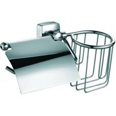 Держатель туалетной бумаги Fixsen Kvadro FX-61309+10 с держателем для освежителя
