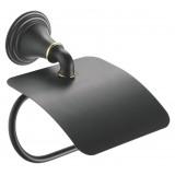 Держатель туалетной бумаги Fixsen Luksor FX-71610B с крышкой