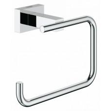 Держатель для туалетной бумаги Grohe Essentials Cube 40507001 без крышки, хром