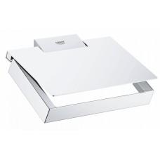 Держатель для туалетной бумаги Grohe Selection Cube 40781000 с крышкой