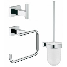 Набор аксессуаров Grohe Essentials Cube 40757001 3 предмета, хром