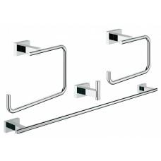 Набор аксессуаров Grohe Essentials Cube 40778001 4 предмета