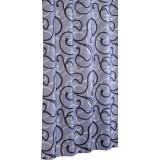 Штора для ванной Iddis Flower Lace Grey