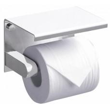 Держатель туалетной бумаги Rush Edge ED77141 White с полкой для телефона, белый
