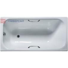 Чугунная ванна Универсал Ностальжи 150x70 с отверстиями под ручки
