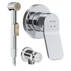 Гигиенический душ AM.PM X-Joy F40H85A00 со смесителем, С ВНУТРЕННЕЙ ЧАСТЬЮ