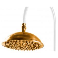 Верхний душ Caprigo Lux 99-102-oro (23 см)