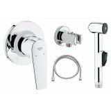 Гигиенический душ Grohe BauFlow 123073 комплект