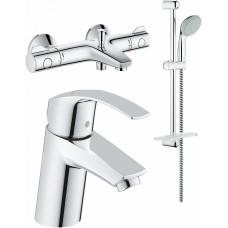 Комплект для ванной Grohe Grohtherm 800 124422