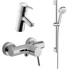Комплект для ванной  Смеситель Hansgrohe Talis S 32620000 для душа + Смеситель Hansgrohe Talis S 320