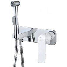 Гигиенический душ Lemark Allegro LM5919CW со смесителем, С ВНУТРЕННЕЙ ЧАСТЬЮ