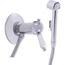 Гигиенический душ Rav Slezak Labe L547 со смесителем, С ВНУТРЕННЕЙ ЧАСТЬЮ