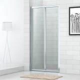 Душевая дверь в нишу Cezares Eco BS-80-C-Cr стекло прозрачное