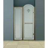 Душевая дверь в нишу Cezares Retro B11 100 CP Br R