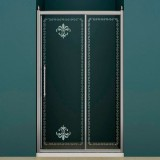 Душевая дверь в нишу Cezares Retro scorrevole BF1 110 PP Cr