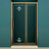 Душевая дверь в нишу Cezares Retro scorrevole BF1 120 CP Br