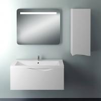 Мебель для ванной 1MarKa Этюд 100П белый глянец