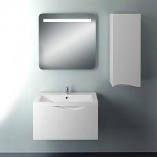 Мебель для ванной 1MarKa Этюд 75П белый глянец