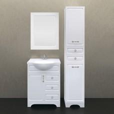 Мебель для ванной 1MarKa Прованс 65Н белый глянец