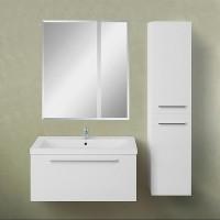 Мебель для ванной 1MarKa Соната 75П с 1 ящиком, белый глянец