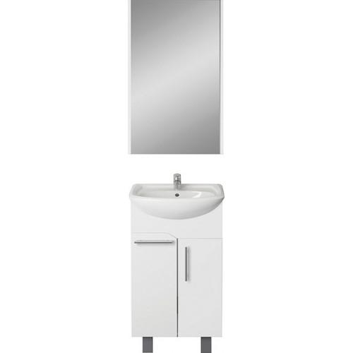 Мебель для ванной 1MarKa Йота 45Н белый глянец