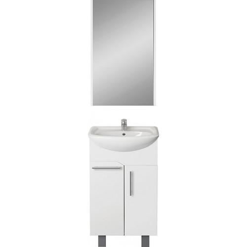 Мебель для ванной 1MarKa Йота 50Н белый глянец