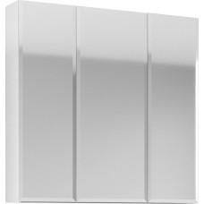 Зеркало-шкаф 1MarKa Соната 90 белый глянец