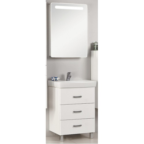 Мебель для ванной Акватон Америна 60 М напольная белая левая