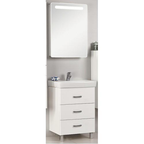 Мебель для ванной Акватон Америна 60 М напольная белая правая