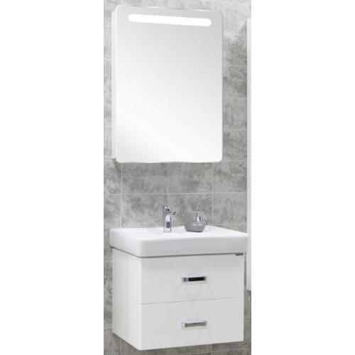 Мебель для ванной Акватон Америна 60 подвесная белая левая