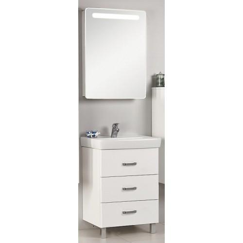 Мебель для ванной Акватон Америна 70 М напольная белая правая