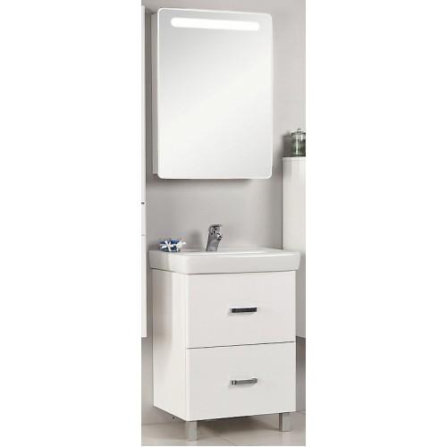 Мебель для ванной Акватон Америна 70 Н напольная белая правая