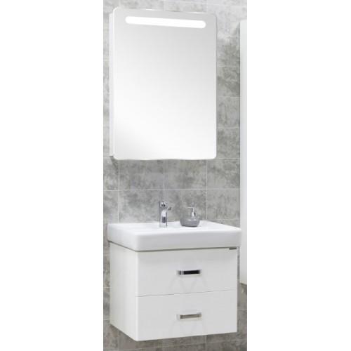 Мебель для ванной Акватон Америна 70 подвесная белая левая