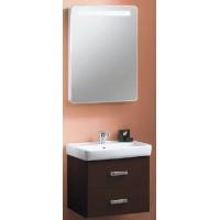 Мебель для ванной Акватон Америна 70 подвесная темно-коричневая левая